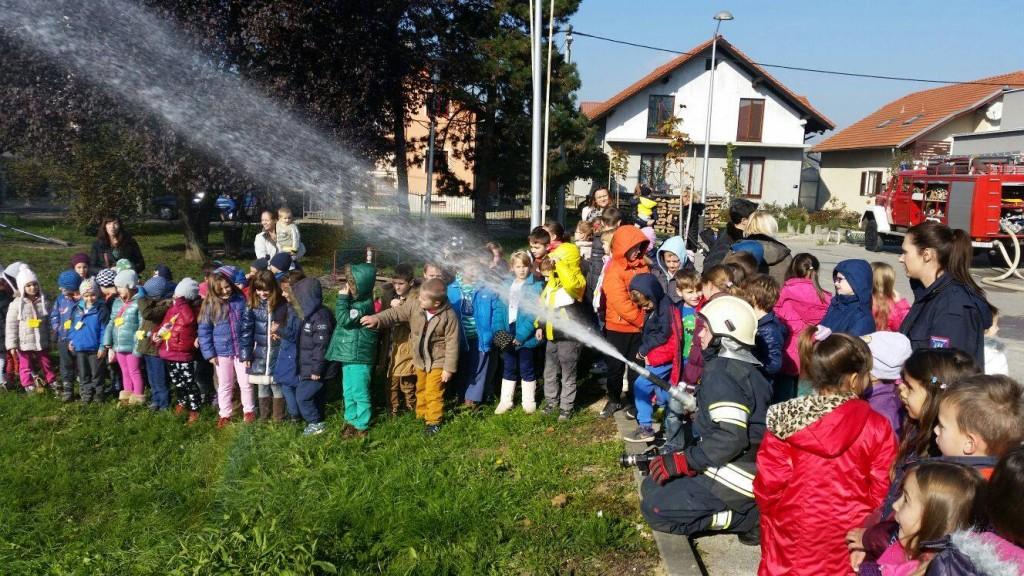 Posjeta dječjeg vrtića Siget – Grupa Pužići